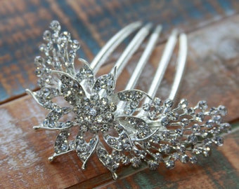 Wedding Haircomb, Bridal Headpiece, Bridal Haircomb, Rhinestone Hair Comb, Rhinestone Haircomb, Wedding Accessory