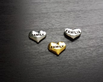 Family Floating Charm for Floating Lockets-Familia-Gift Ideas