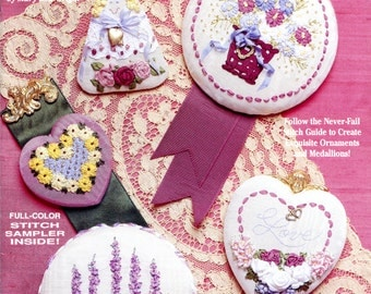 Ribbon Stitches by Mary Lou Wright (ribbon embroidery)