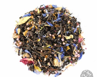 Lady Strathcona | Organic Black Loose Leaf Tea | Earl Grey | Creme