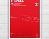 Rotherham - Alex Revell vs Leyton Orient - Giclee Print