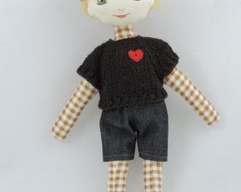 miniDollisia – little cloth boy