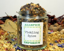 Pickling Spice Canning Preserve Seasoning Homemade Gourmet Cooking Herb Popcorn Gift
