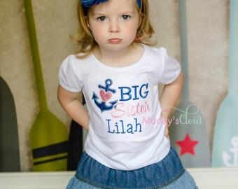 Big Sister Anchor Shirt