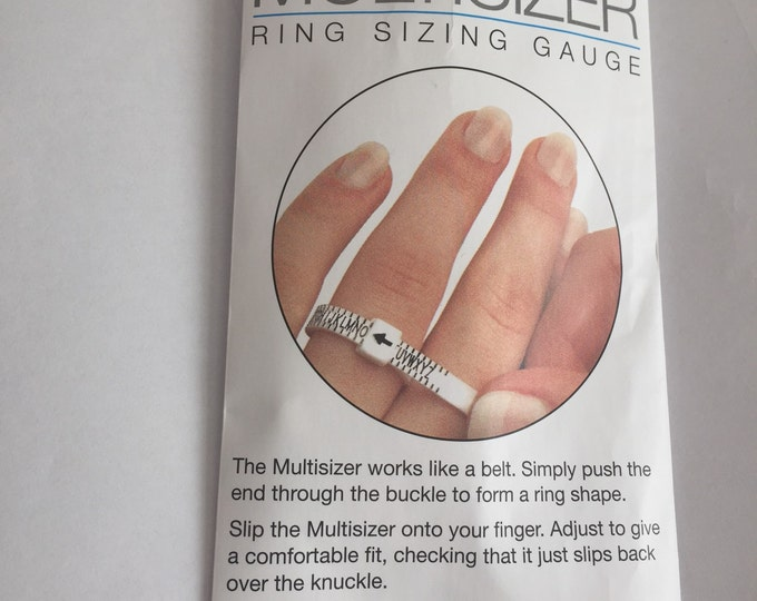 Ring Sizer - measure your ring size - multi use