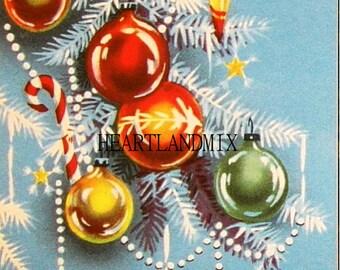 Ornaments Vintage Christmas Image