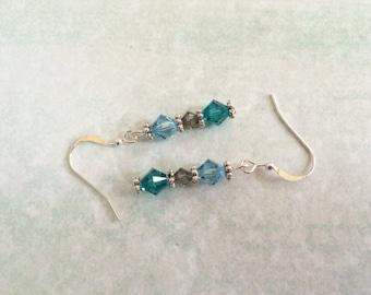 Beautiful Swarovski crystal earrings