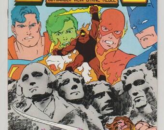 Legends; Vol 1, 3 Copper Age Comic Book.  NM-.  January 1987.  DC Comics