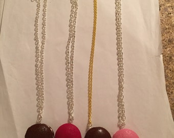 Big Whoopie Pie Necklaces