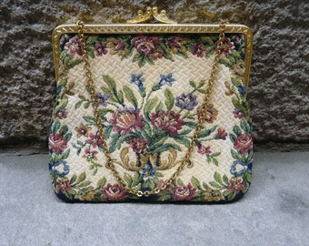 Evening bag in Petit Point