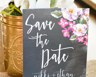 FLORAL|Save the Dates #1