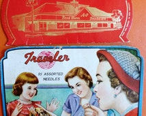 Vintage Sewing Needle Cards