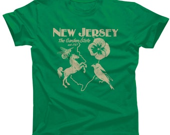 New Jersey Shirt - New Jersey T Shirt - I Love New Jersey - New Jersey Pride - New Jersey State  (See SIZING CHART in Item Details)