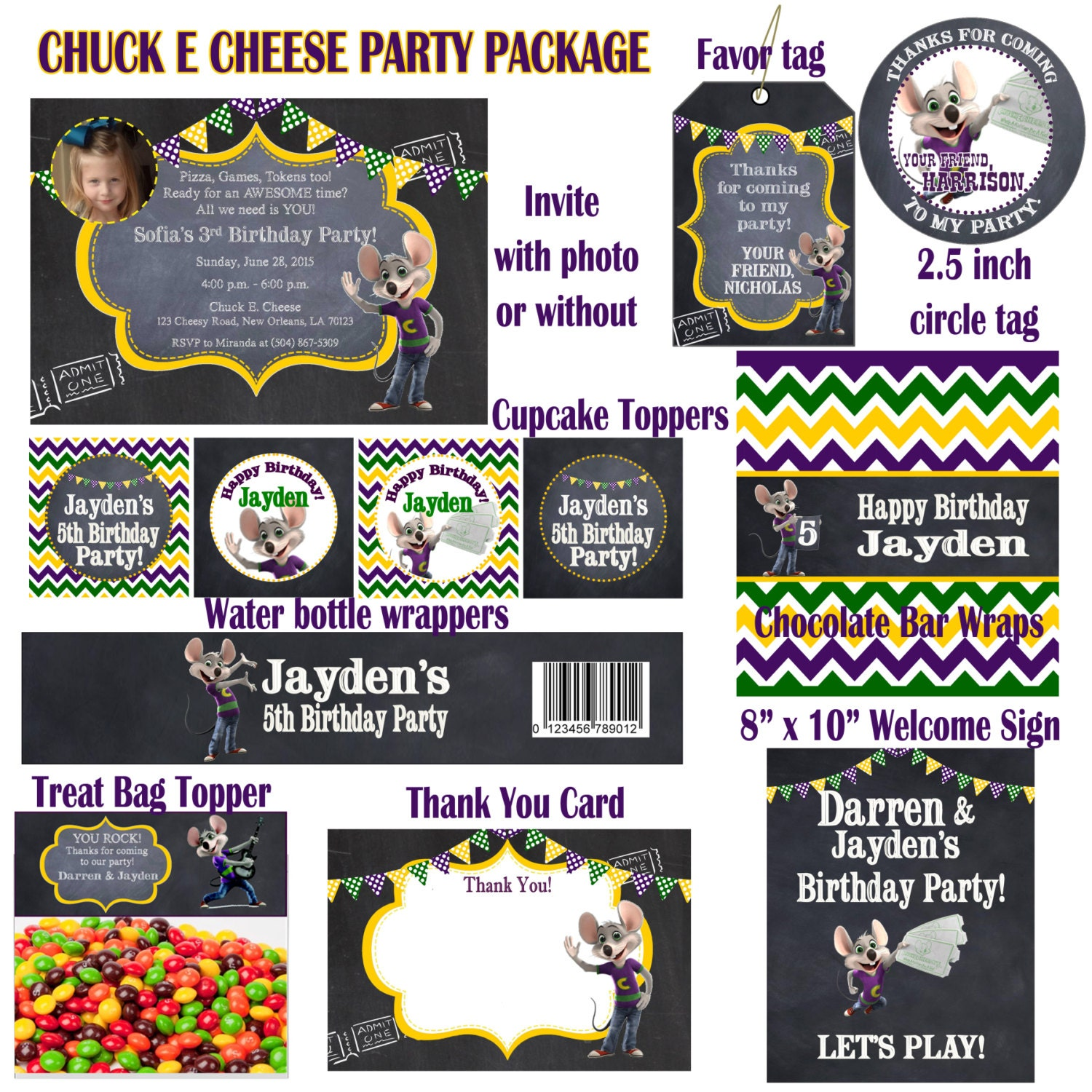 Book a Birthday Party at Chuck E Cheese's. Never miss another coupon. Be the first to learn about new coupons and deals for popular brands like Chuck E Cheese's with the Coupon Sherpa .