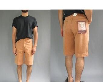 Calvin Klein High Waist Shorts - Vintage Calvin Klein Shorts - 90s Calvin Klein Denim Shorts - 28