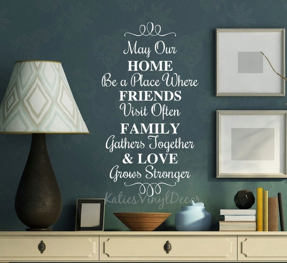 Family Friends Wall Decor : Home wall decor gift for friends family by