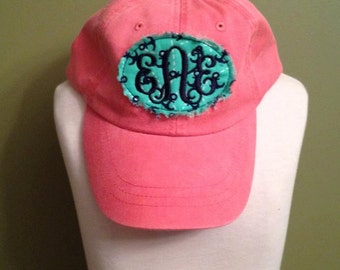 Adult Monogrammed Initial Hats