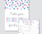 Pink and Blue Baby Shower...