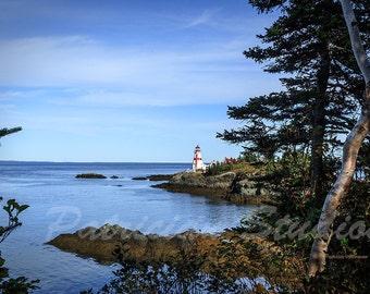 Lighthouse East Quoddy, Campobello Island, New Brunswick, Canada