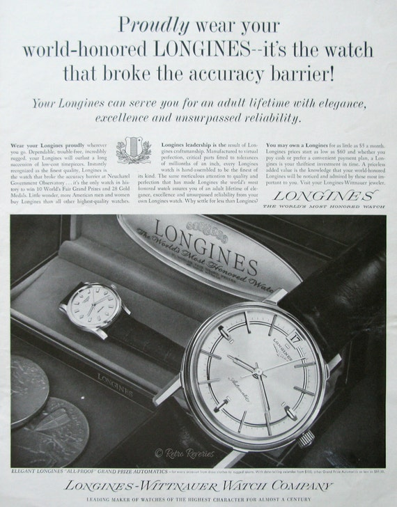 Longines Watch Prise