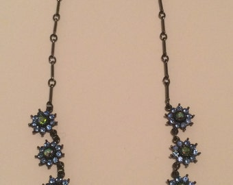 SALE: Delicate and Feminine Floral Necklace