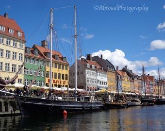 Europe Photography, Copenhagen Denmark Photograph, Wall Art, Europe Print