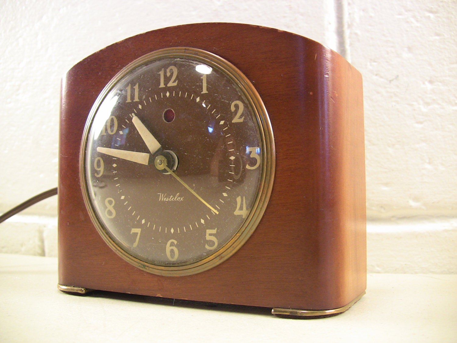 Vintage alarm clock modern art deco clock electric alarm clock Art deco alarm clocks