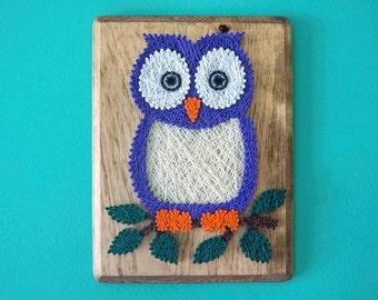 String art owl etsy uk for String art patterns animals
