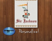 Sir Jackson Concept 1 -- Custom Wall Art Decor -- Digital File Download