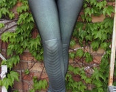 TAFI Green Arrow Leggings - Artemis or Oliver Queen Archer Costume Yoga Pants 2015 Black Milk Galaxy DC Super Hero CosPlay Print
