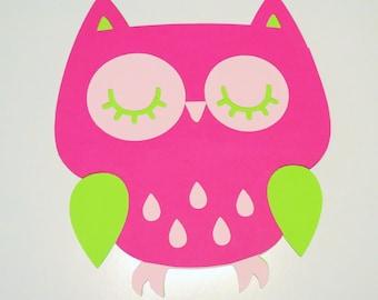 """8"""" Owl for DIY Centerpieces -Owl Decor - Party Decor"""