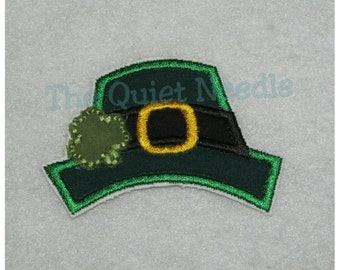 Embroidered Leprechaun Hat Applique Patch * St. Patrick's Day Iron On / No Sew or Sewable * 3 SIZES