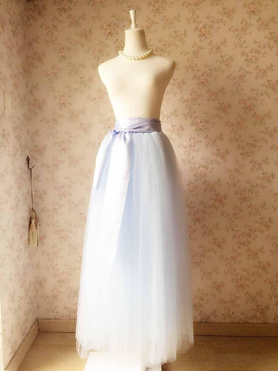 d25c4f0b3101 Full Length Maxi Tulle Skirt – Adult Maxi Tulle Skirt – Maxi Wedding Tutus  – Frozen Tutus, Adult Tutus, Wedding tutu dress with long sash