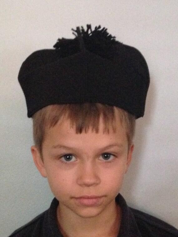 Biretta- priest hat costume