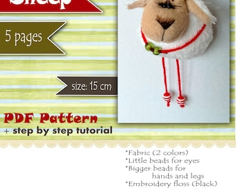 Sheep PDF Pattern