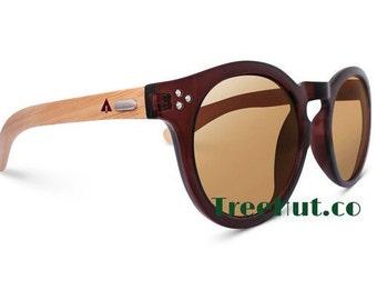 Wooden Sunglasses Polarized Lenses Tree Hut Design Treehut.co Wood Sunglasses  Eyewear  Eyeglasses Glasses HUT-R3