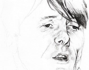A Portrait of Brett Anderson, Lead Singer of Suede