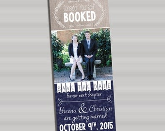 Consider Yourself Booked (Save the Date Bookmark) - DIGITAL FILE