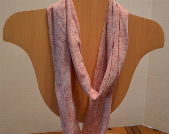 Red Heather Infinity Scarf