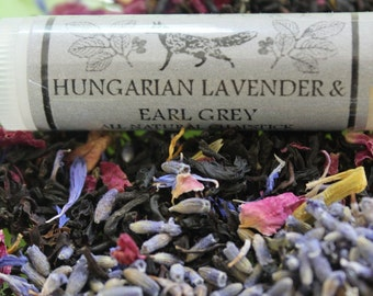 Hungarian Lavender and Earl Grey Beeswax Lip Balm