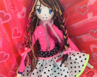 "Cloth Doll 9 ""Custom"