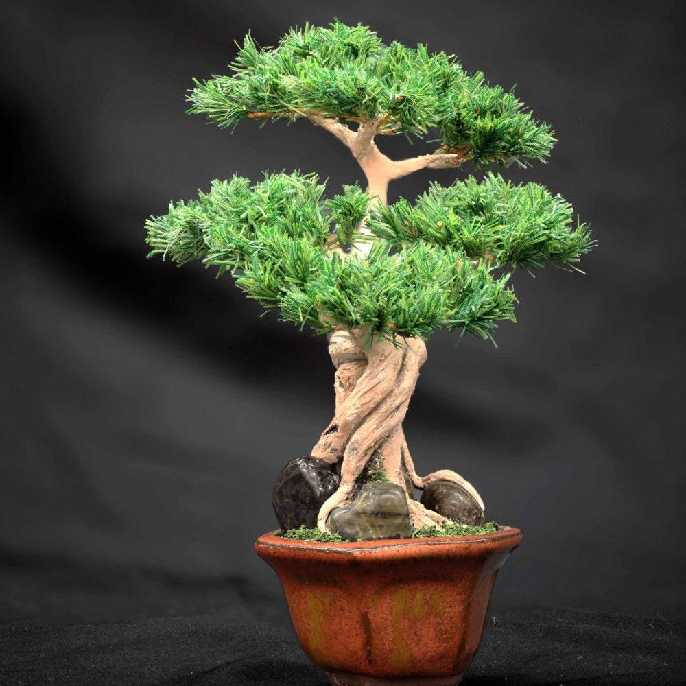 artificial bonsai miniature pine bonsai bonsai tree bonsai. Black Bedroom Furniture Sets. Home Design Ideas