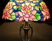 Stained Glass Art Stained Glass Table Lamp Stained Glass Shade Table lamp Desk Lamp Bedside Lamp Nightstand Lamp Standing Lamp Decor