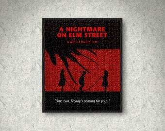 A Nightmare on Elm Street Minimalist Movie Quote Poster Print, Freddy Krueger, Print Art Poster, Home Decor