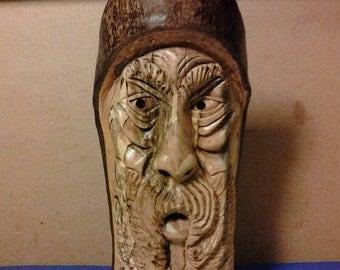 Wood Carving / Hand Carved Wood Spirit