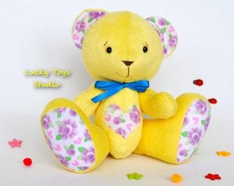 Plush Teddy Bear Stuffed Animals/Teddy Bear Stuffed Toy/ Hande Made Teddy Bear/Plush Teddy Bear Kids/Plush Teddy Bear Gift