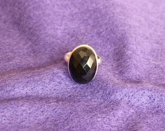 Black Gemstone statement ring