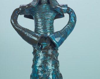 Queen Series | Ceramic Sculpture | Home & Garden Decor