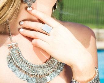 Drifter Silver Bracelet
