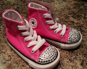 Bedazzled Infant Chuck Taylors